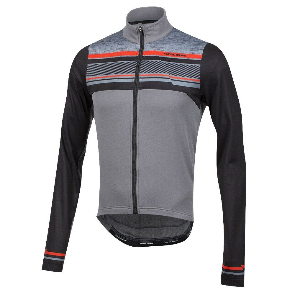 Pearl Izumi Select Thermal LTD Cycling Bike Jersey Drift Smoked Pearl Small
