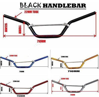 22mm Aluminium Alloy Handle Bar Bars Dirt Bike Thumpstar Mountain Quad Bike ATV