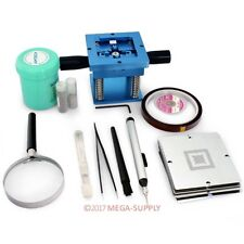 Reball JIG + 29p 90x90 Stencil + Flux + Solder Ball Kit