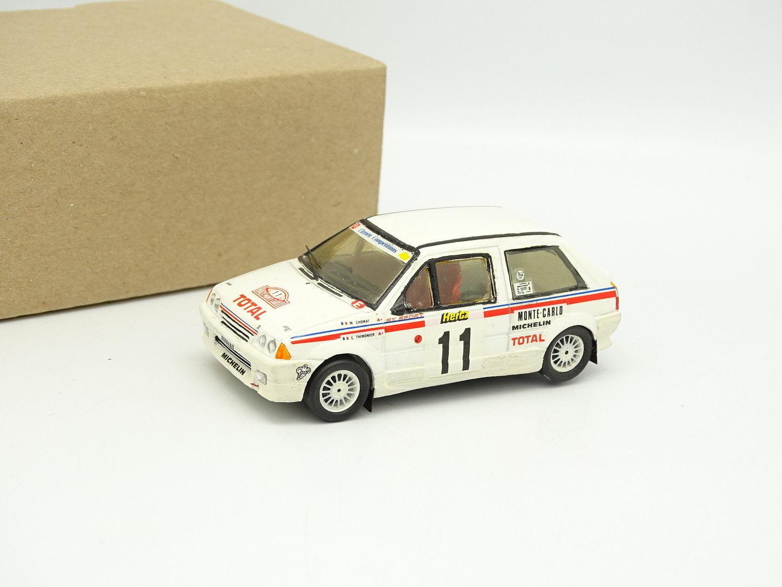Provence Riproduzione Kit Montato 1/43 Citroen AX Sport Rally Monte Carlo 1988
