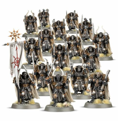 CHAOS WARRIORS 16 MAN WARHAMMER 40,000 GAMES WORKSHOP #