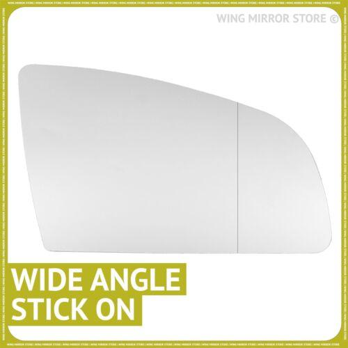 Audi A6 2004-2008 Droit Chauffeur Grand Angle Wing mirror glass