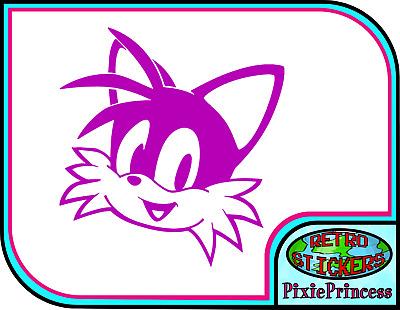 Muurversieringen Stickers Huis Sonic Hedgehog B Vinyl Sticker Sega Tails Car Console Ps4 Xbox Wall Window Decal Gamestingr Com