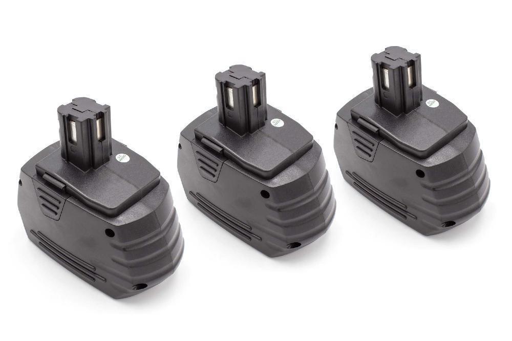 3x Batteria 1500mAh per Hilti SFB180, SFB185