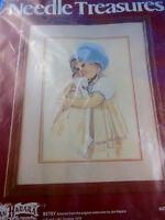 Needle Treasure Stitchery Embroidery Kit Betsy With Doll Jan Hagara 1979 Sealed