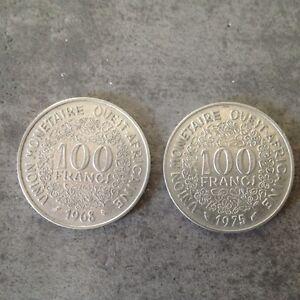 WEST AFRICAN STATES AFRIQUE DE L/'OUEST    100 francs 1975 etat