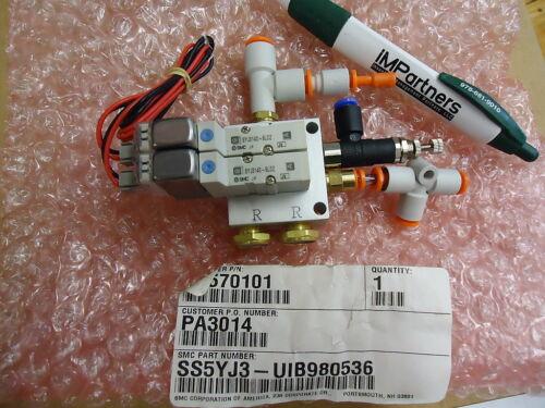 Brand New! SMC SS5YJ3-UIB980536 Valve Pack Assembly