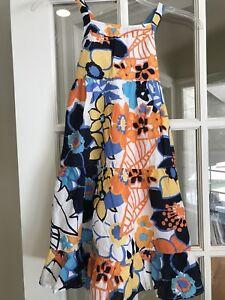 Gymboree Size 7 Dress Sundress Sunny Citrus NEW