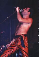 FREDDIE MERCURY QUEEN CLOSE UP PHOTO 1984 UNIQUE UNRELEASED HUGE 12 INCH COLOUR