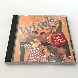 Vintage-The-Wiggles-CD-ABC-For-Kids-Music-EMI-1991-With-The-Original-5-Members