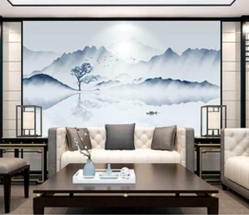 3D Ink Painting I1640 Wallpaper Mural Sefl-adhesive Removable Sticker Wendy