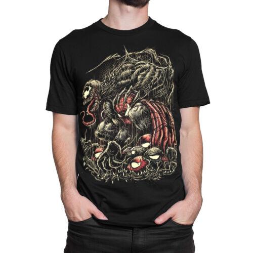 Men/'s Women/'s All Sizes Venom vs Spiderman T-Shirt Marvel Comics Tee