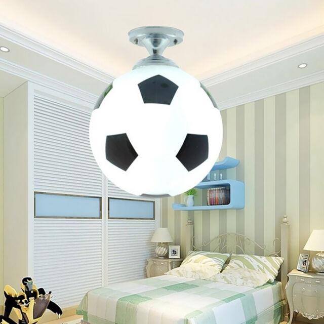 Fussball Design E27 Deckenleuchte Kinder Schlafzimmer Leuchte Lampe 220v