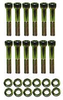 Small Block Ford Zinc 6pt Allen Head Intake Manifold Bolt Kit 265 289 302 351w
