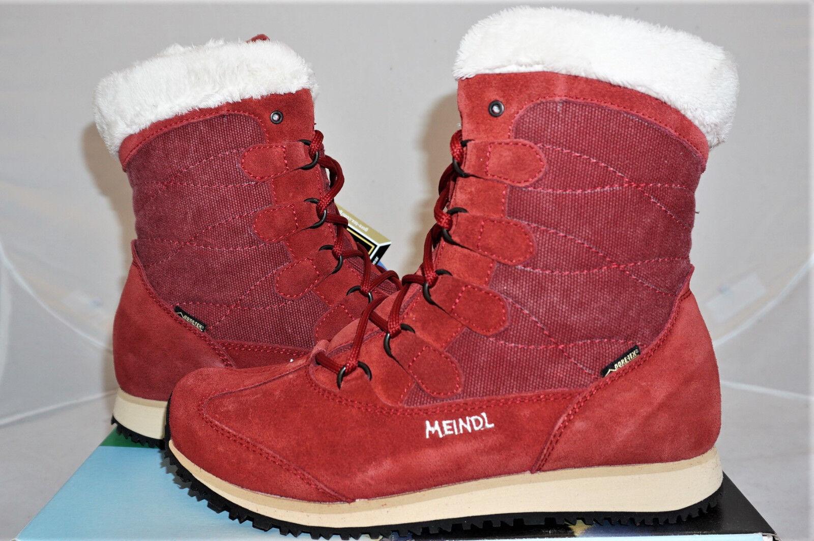 Meindl Cristallo Lady GTX UK 4,5 UE 37,5 37,5 37,5 botas de invierno de piel botas de montaña  nuevo 2169c5
