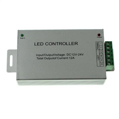 24Key Fernbedienung 12...24V 12A RGB LED IR Controller Remote Steuerung