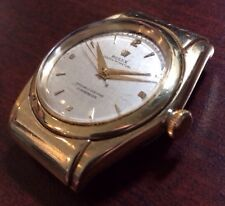 Rolex 14K Hooded Bubbleback RARE #3065