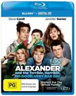 Alexander And The Terrible, Horrible, No Good, Very Bad Day (Blu-ray, 2015)