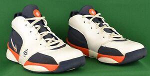new style 601a7 03140 Nike Huarache 64 Air Zoom 2006 NBA Knicks White Navy Orange ...
