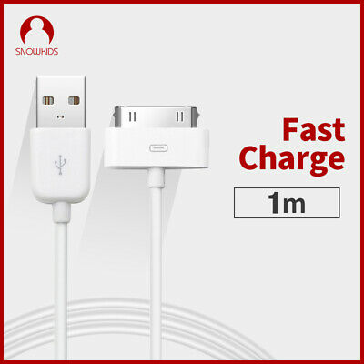 3Ft 30-pin to USB Sync Data Charging Charger Cable for iPad1//2//3 iPhone4 MFI