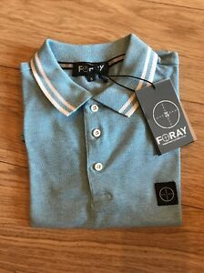 Details about Men Foray Clothing Polo T Shirt Pk Thrust Size Small colour  Sky Blue Sale Cheap
