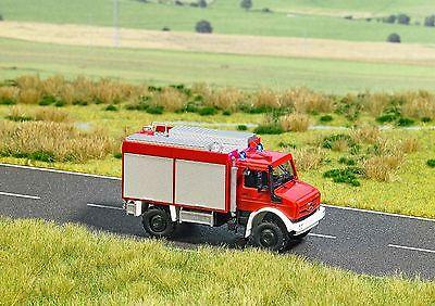 BUSCH 5599 Spur HO Unimog U 5023 »Feuerwehr« #NEU in OVP#