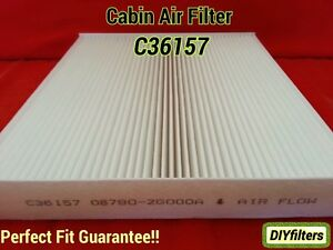 FC36157 2PC//SET 97133-2G000 CABIN AIR FILTER ~ 2010-11 AZERA /& 2011-12 SANTA FE
