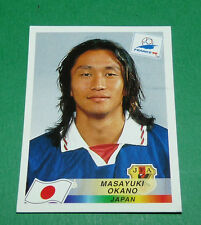 N°532 MASAYUKI OKANO JAPON JAPAN PANINI FOOTBALL FRANCE 98 1998 COUPE MONDE WM
