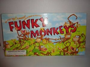 1999-Funky-Monkeys-Be-The-Top-Banana-Board-Game-100-Complete
