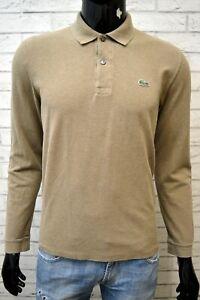 Polo-Slim-Uomo-LACOSTE-Taglia-4-M-Maglia-Camicia-Herrenhemd-Chemise-Shirt