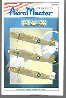 AeroMaster Marauding Mitchells Pt.3 Decals Accurate Miniatures 1/48 Kits AN48690