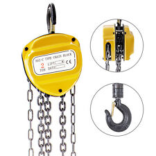 2 Ton Manual Lever Block Chain Hoist Ratchet Type Come Along Puller With10ft Chain
