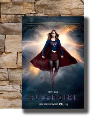 New Supergirl Season 3 TV Poster 2018 Melissa Benoist 20x30 24x36 Poster T-1219