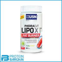 Usn Phedra Cut Lipo Xt Fat Burner 60 Caps, Weight Loss, Energy, Slimming Pill