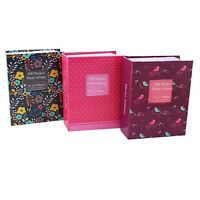 """4"""" x 6"""" SLIP IN LARGE PHOTO ALBUM WITH WINDOW HOLDS 100 PHOTOS - CHOOSE DESIGN"""