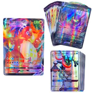Lot de cartes Pokémon Version Française Rare Brillante GX VMAX V TagTeam EX