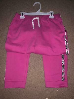 Carter/'s Girls/' Pull-On Joggers Pink with Hearts on Knees NWT sweatpants pants