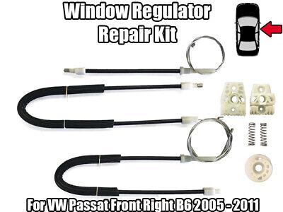 Window Regulator Repair Kit Front Left Door for VW Passat B6 2005-2009