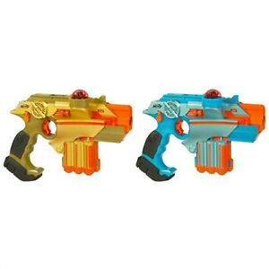 Nerf Lazer Tag Set Guns War Toys Laser Game Double Pack Battle Phoenix Gift Team