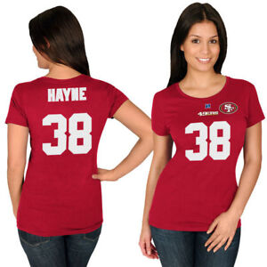 new styles 52633 912d9 Details about NEW Ladies Size 12 Jarryd Hayne Eels NRl Rugby 49ers NFL  Shirt Top Jersey