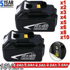 6.0AH 18V For Makita BL1860 BL1850 BL1840 BL1830 BL1850B LXT Lithium-ion Battery