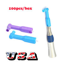 Top Quality 100pcs500pcs Dental Disposable Prophy Angles Soft Cup Latex Free