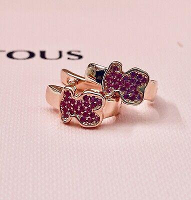 413283550 Original TOUS Vermeil Gen Rubí Earrings