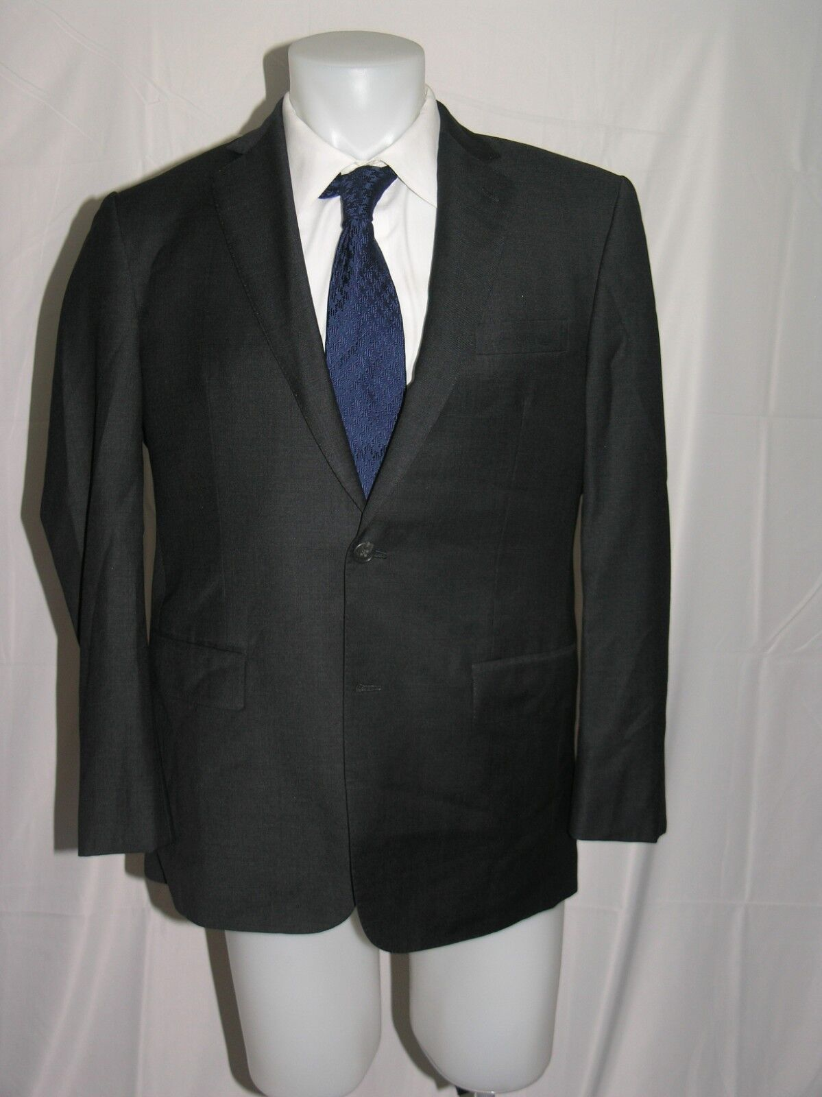 Ascot Chang Two Button Trofeo Cloth Bespoke Blazer 40 S