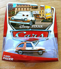 Disney PIXAR Cars TUBBS PACER on 2013 LEMON THEME CARD diecast 5/7 crime boss