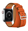 Leather-Watch-Band-Herme-Belt-Single-Double-Tour-For-Apple-Watch-Series-4-3-2-1 thumbnail 40