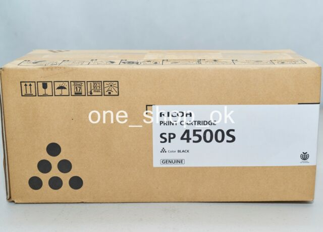 Genuine Ricoh Black SP 4500S Toner 407337