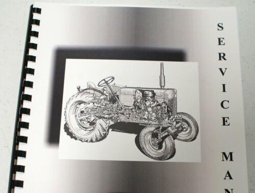 same as mustang Massey Ferguson Massey Harris 23 Service Manual