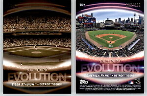 2019-Topps-Series-2-Evolution-ES-4-Black-299-COMERICA-PARK-TIGER-STADIUM-Tigers