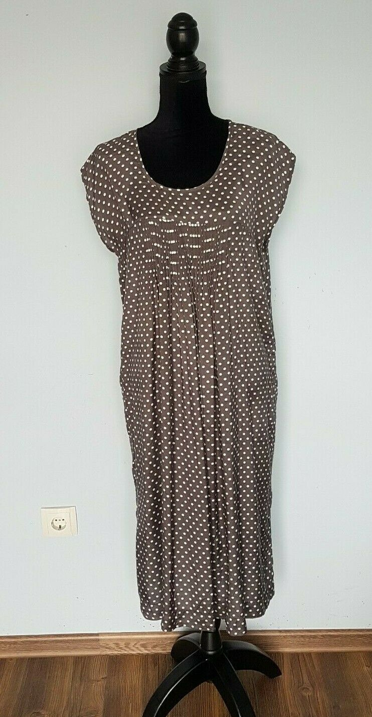 The MASAI Clothing Company Grey Short  Sleeve  Dress  Size L